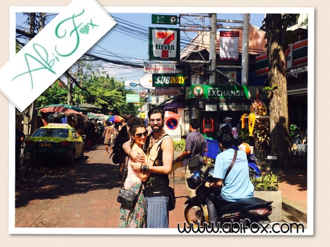 Abi fox, revitalise, Thailand, Asian adventure,