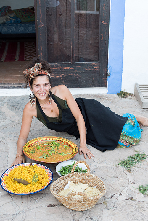 Abi FOx, food alchemist ibiza, plant powered chef,