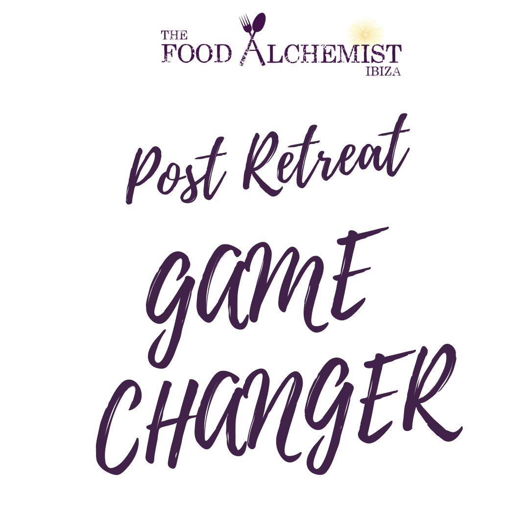 food alchemist ibiza, post retreat package