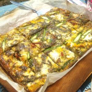 egg, frittata, food alchemist ibiza, abi fox, retreat chef, ibiza retreat chef, vegan chef, vegetarian cooking,