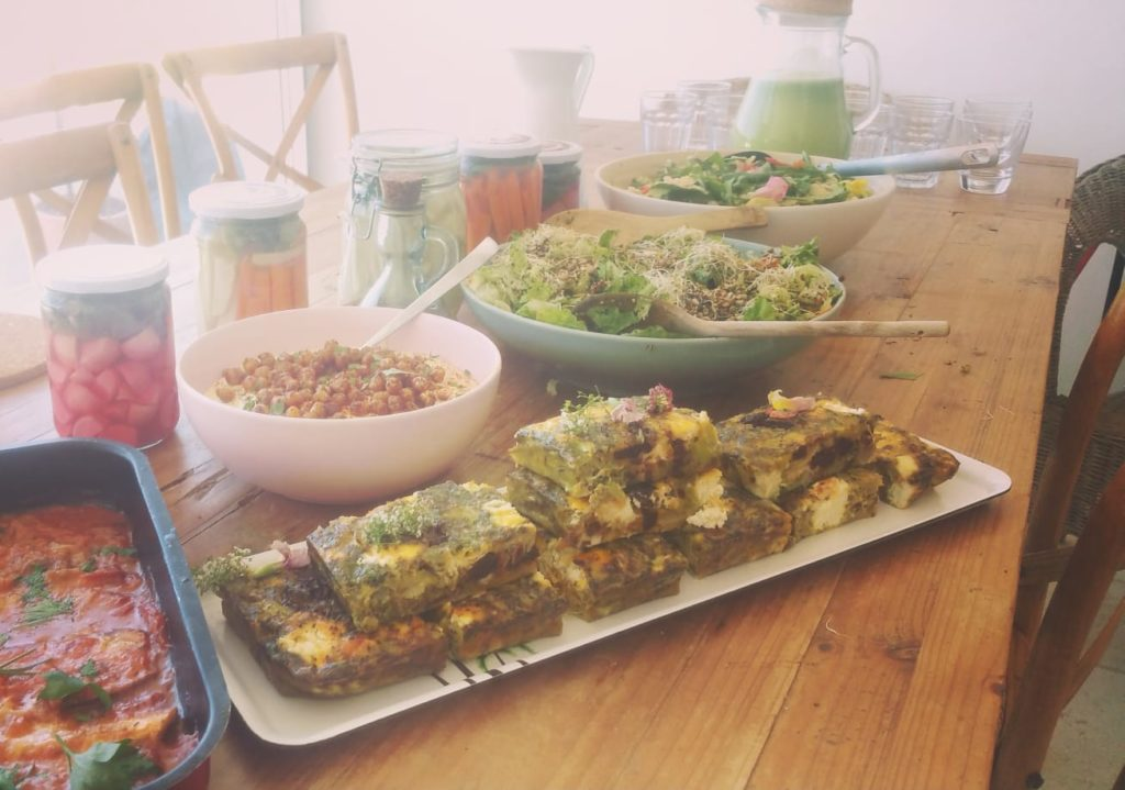 food alchemist ibiza, egg frittata, ibiza retreat chef, abi fox,