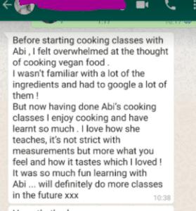 abi fox, creative cooking